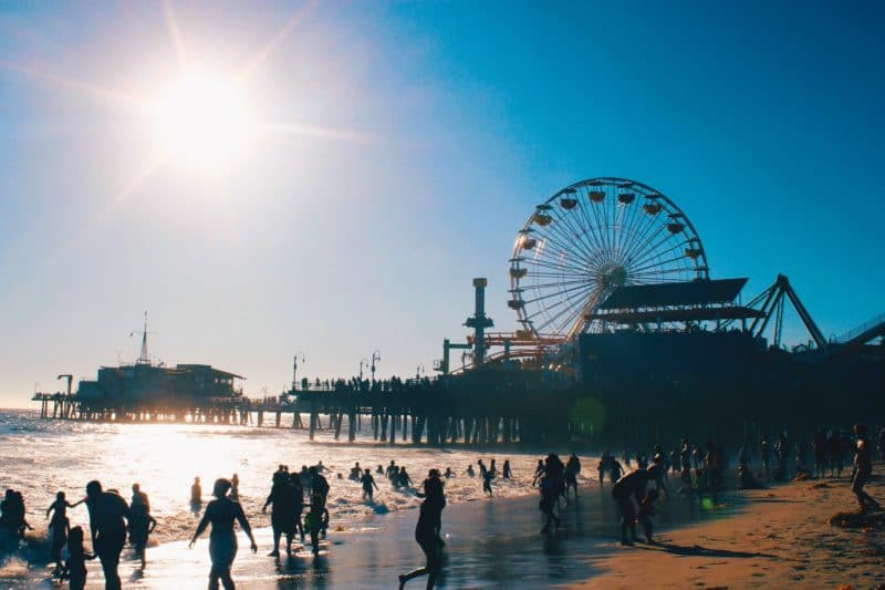How to be a tourist at Santa Monica Pier