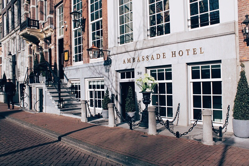 Itinerary how to spend 3 days in amsterdam stephanie fox Ambassade hotel amsterdam