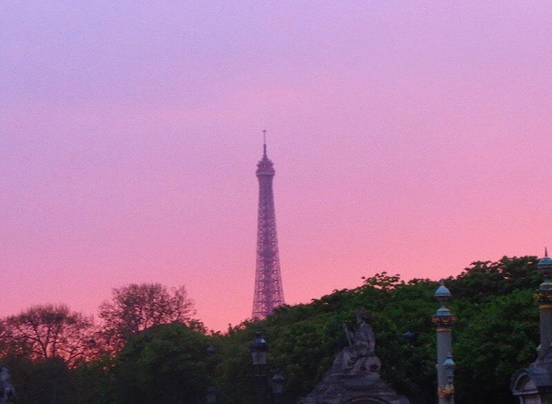 Sunday sunsets - Paris