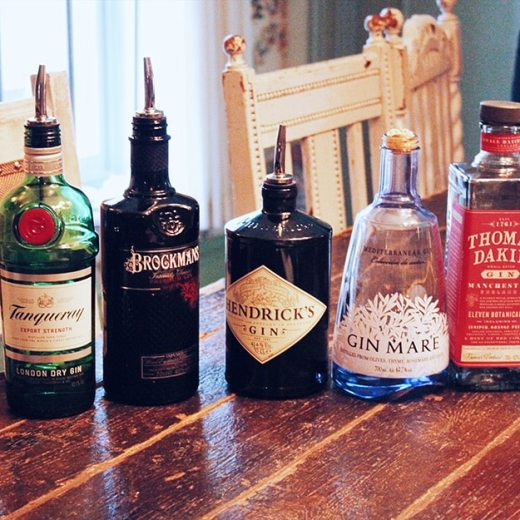 Gin masterclass at The Botanist