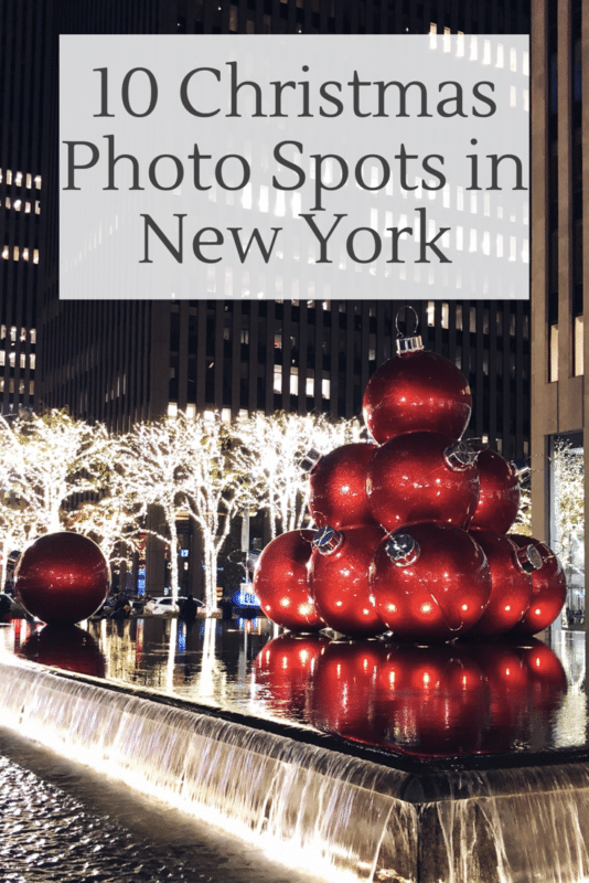 10 Christmas Photo Spots in New York