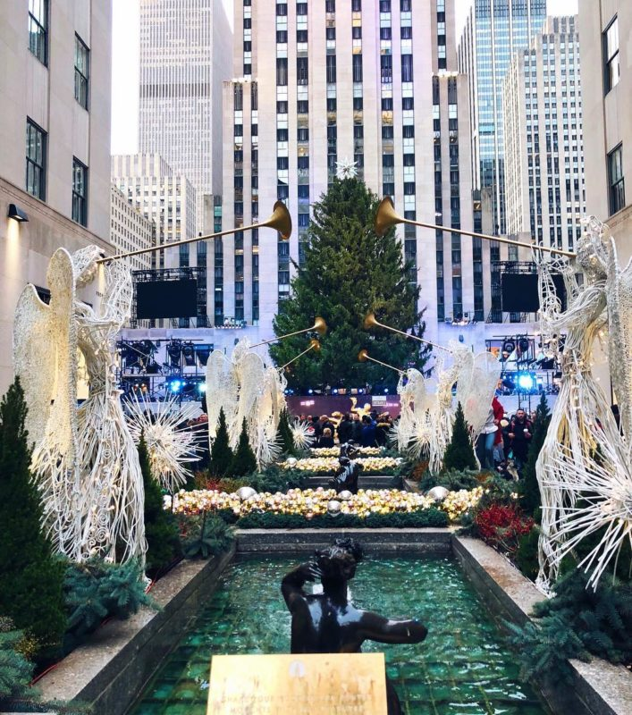 The Rockefeller Center and Top of the Rock, New York