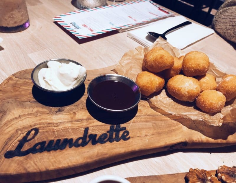 The Laundrette Christmas menu