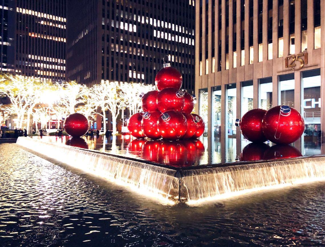 Festive photos of New York