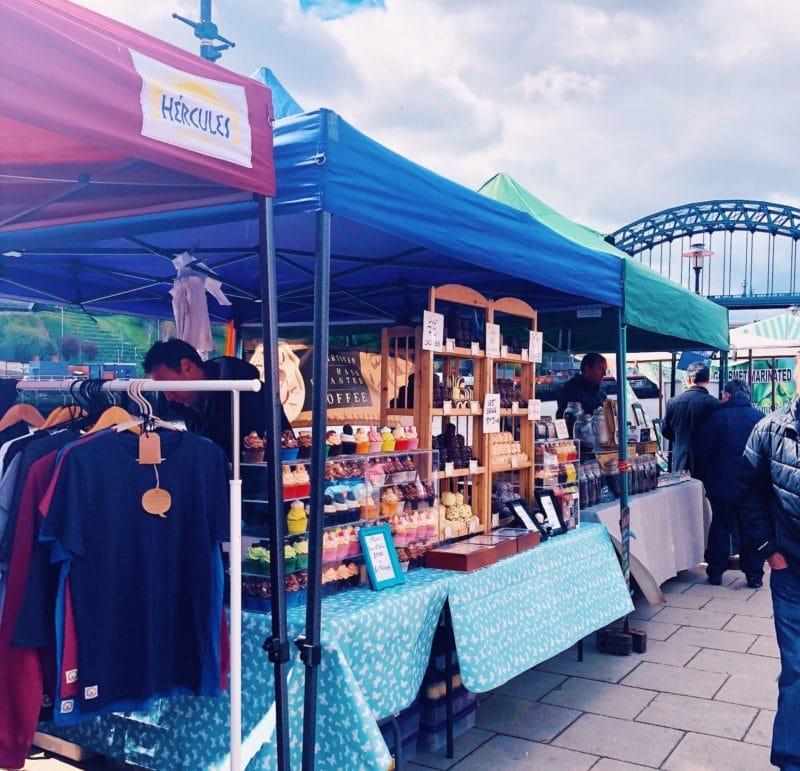 Newcastle Quayside Market