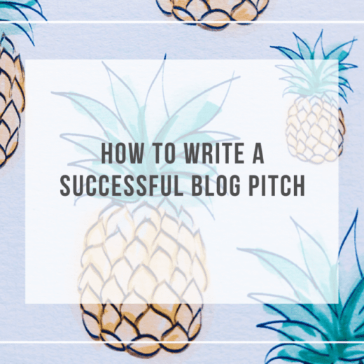 How to write a successful blog pitch