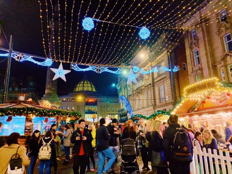 Guide to Christmas in Newcastle Upon Tyne