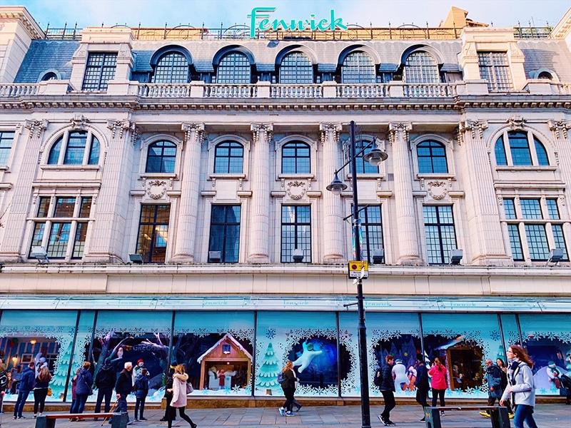 Fenwick's Window 2018 - The Snowman