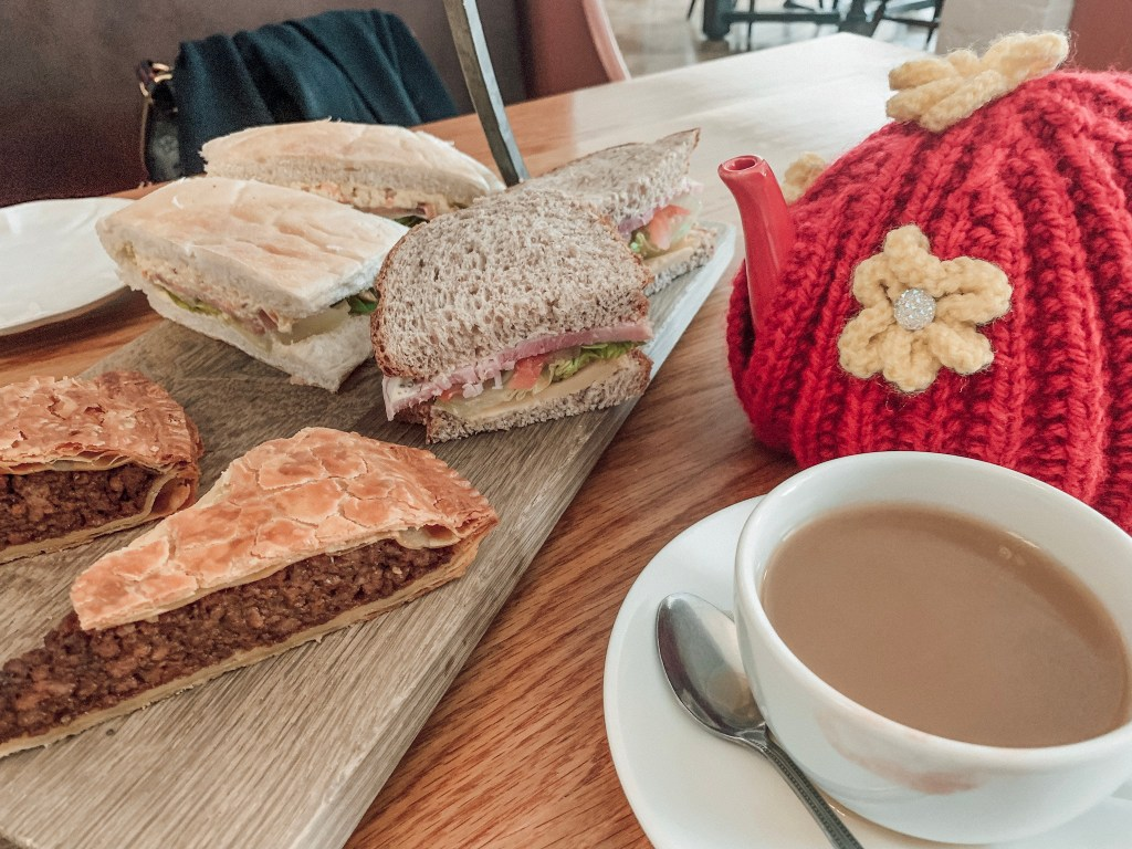 Rustic afternoon tea at St Mary's Inn
