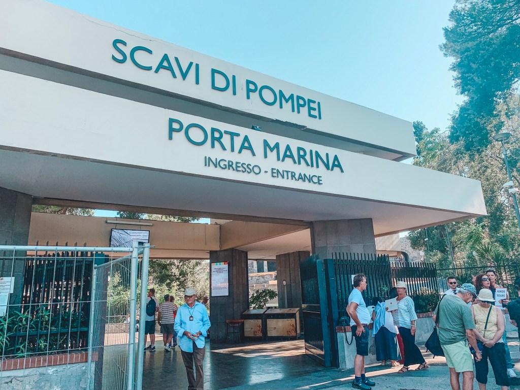 A DIY Trip to Pompeii from Sorrento