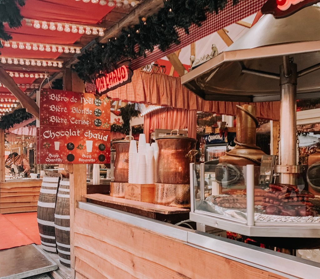 Festive Magic At Paris Christmas Market In The Tuileries Gardens