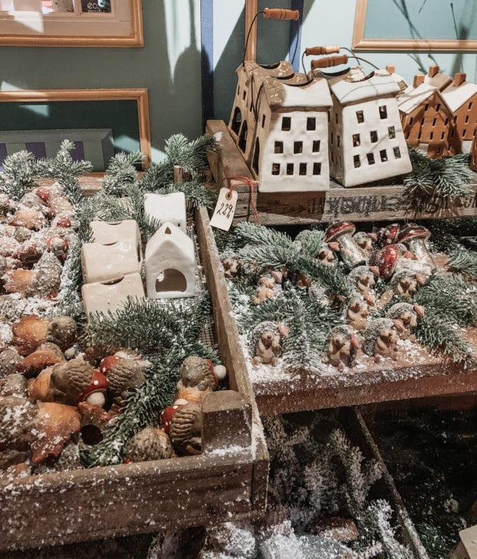 Christmas decorations at Tivoli