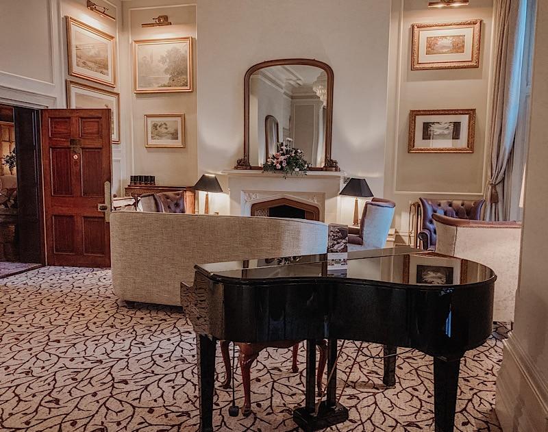 Armathwaite Hall lounge