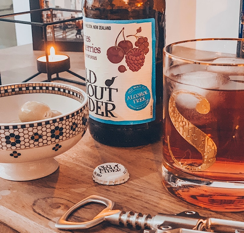 alcohol free old mout cider