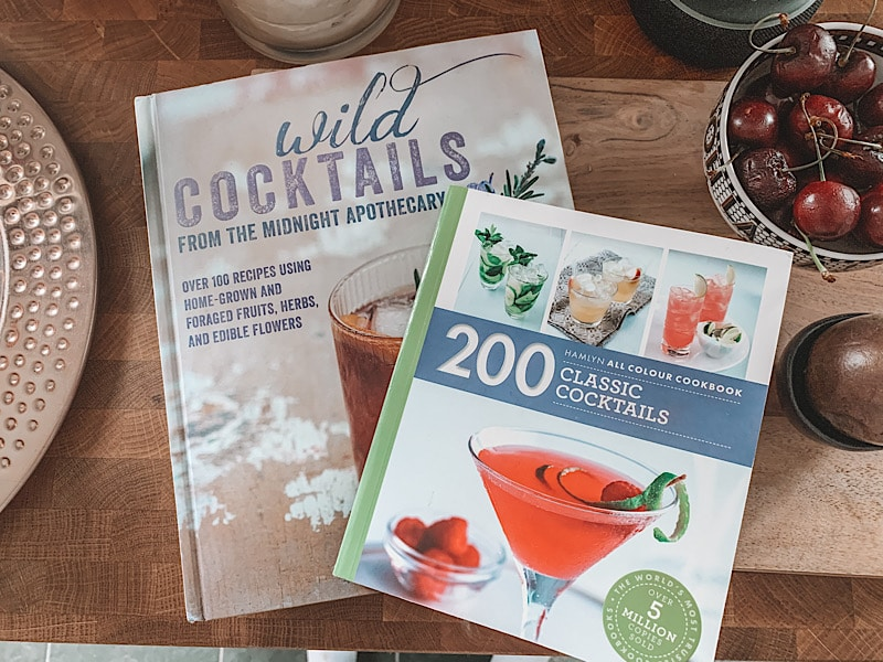 cocktail recipe books