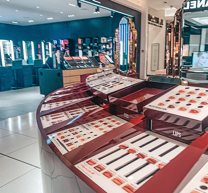 Charlotte TIlbury counter Fenwicks