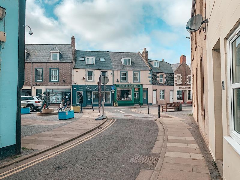 Eyemouth high street, Scottish Borders