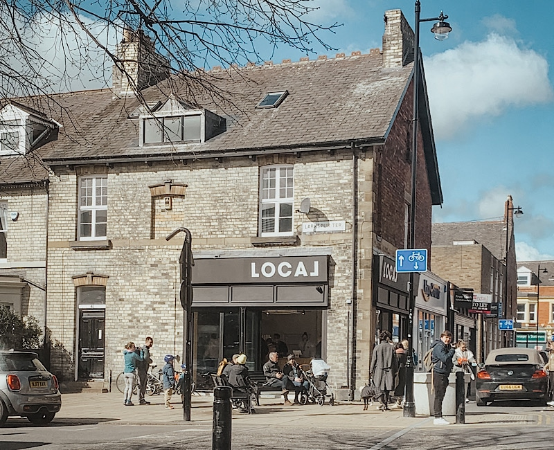 Local NCL, Jesmond's new coffeehouse & shop