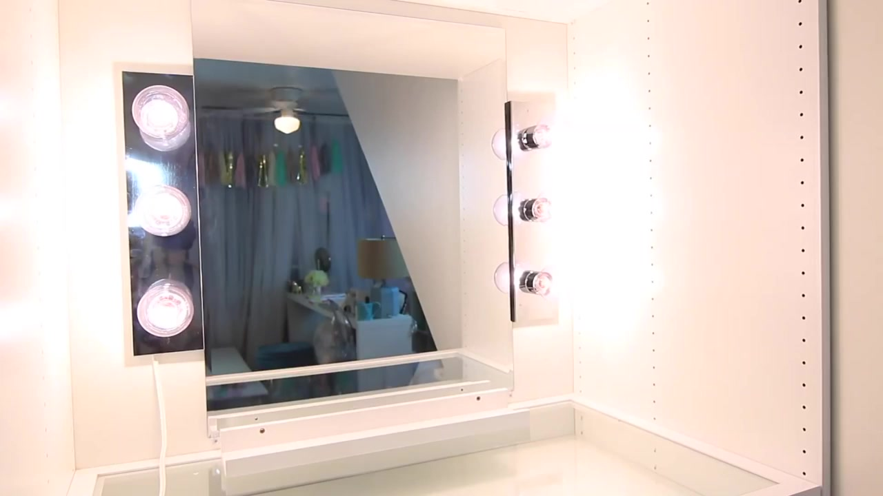 Big Vanity Mirror Lights