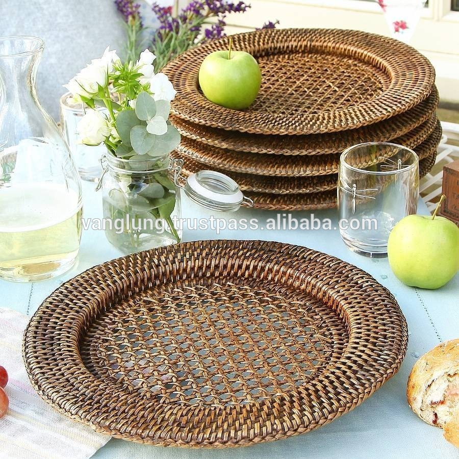 Dining Room Astonishing Plate Chargers For Pretty