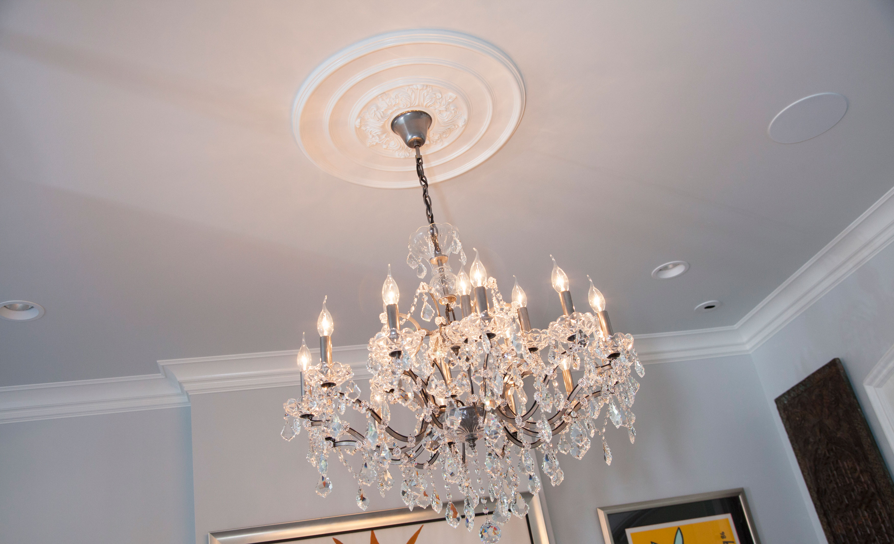 Ceiling Using Ceiling Medallion For Fascinating Home