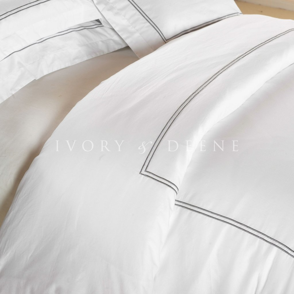 Bedroom Using White Duvet Cover Queen For Gorgeous Bedroom Decoration Ideas