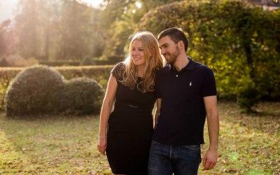 Séance engagement avant mariage