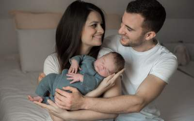 Séance naissance à domicile