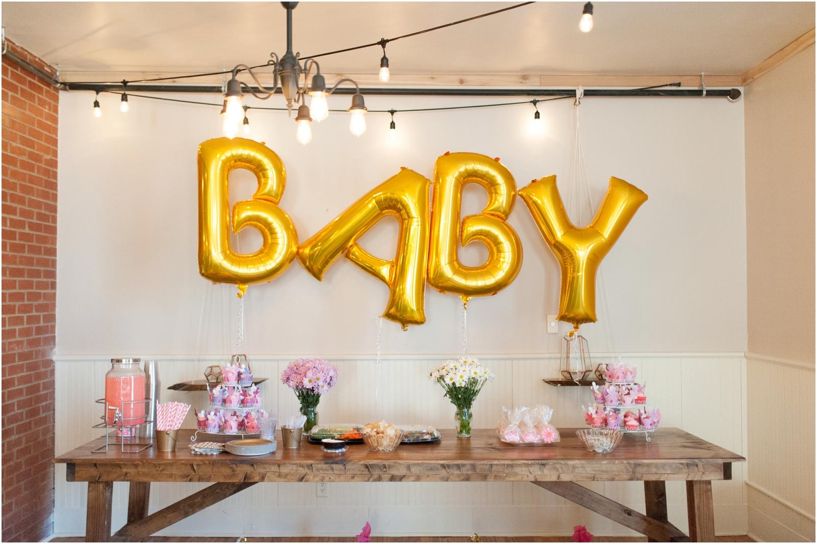 Pink Gold Baby Shower Little Lights Events West Branch Iowa