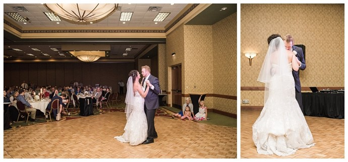 Stephanie Marie Photography Echo Hill Presbyterian Church Marriott Cedar Rapids Iowa City Wedding Photographer Tom Meghan 20