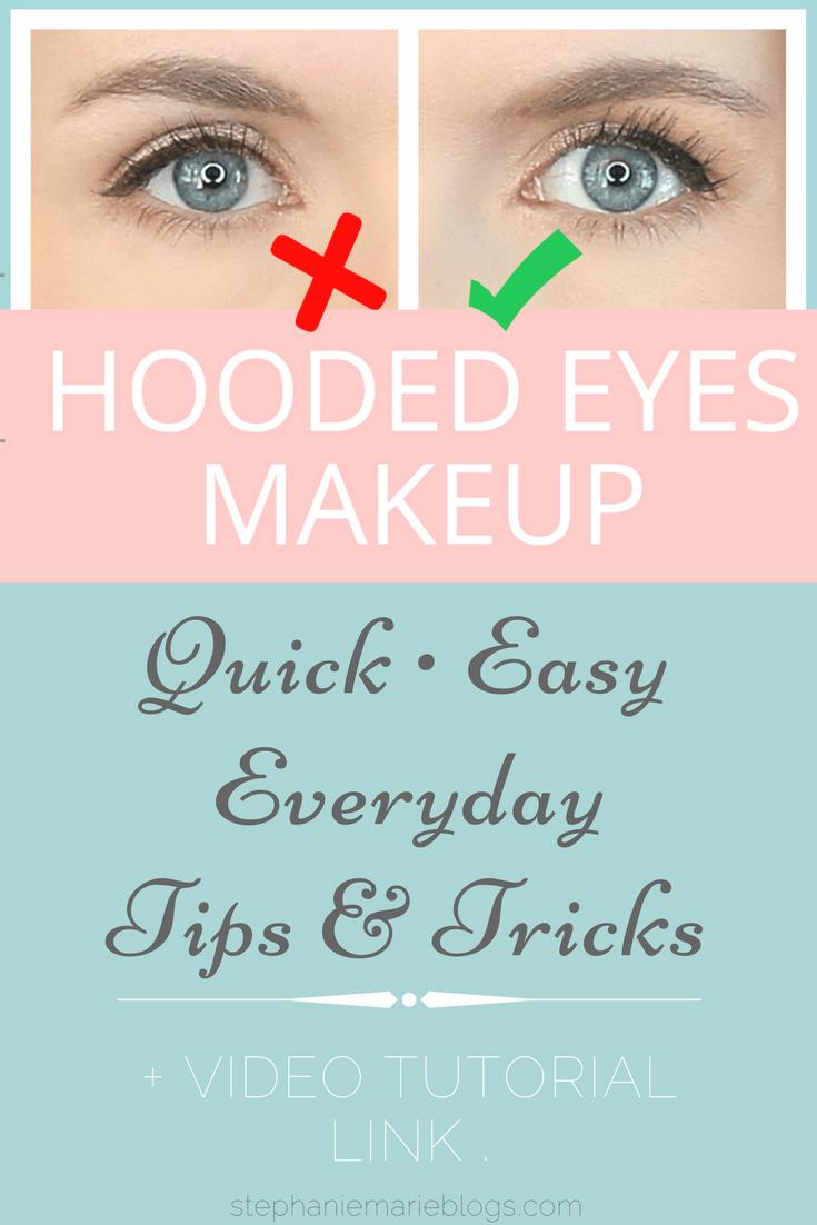 Eye Makeup For Hooded Eyes Stephanie Marie Blogs