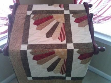 My fan quilt