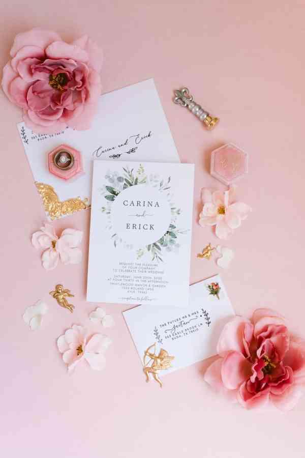 Blush and gold wedding Thistlewood manor & gardens