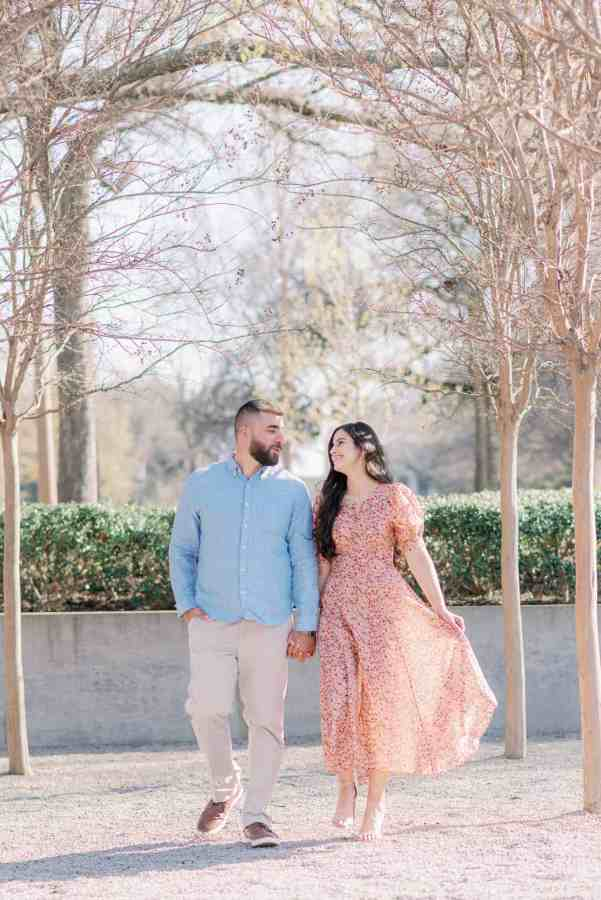 Kimbell Art Museum Engagement Session