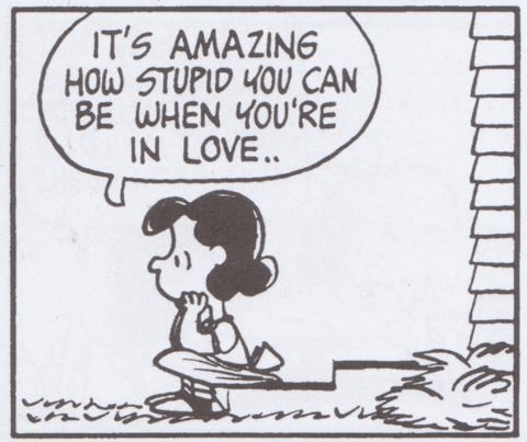 Lucy Van Pelt / Peanuts / Love / Cartoon / stephanieorefice.net
