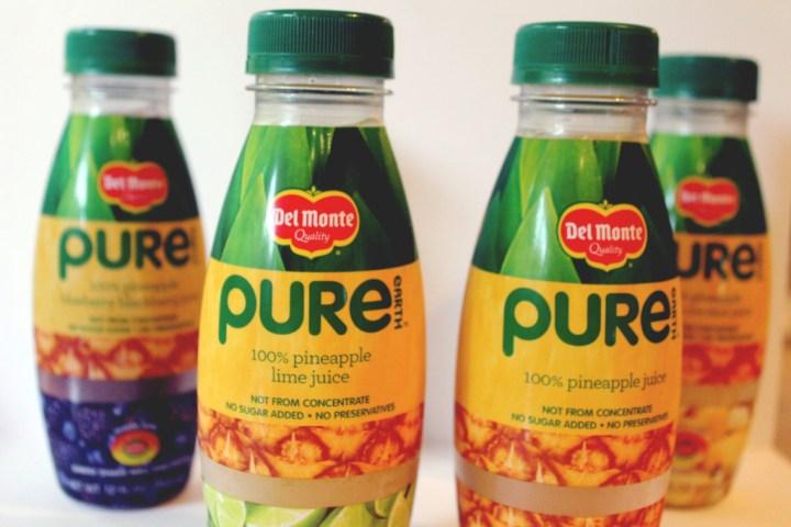 Del Monte Pure Earth juice // stephanieorefice.net