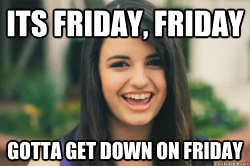 Rebecca Black // Friday // stephanieorefice.net
