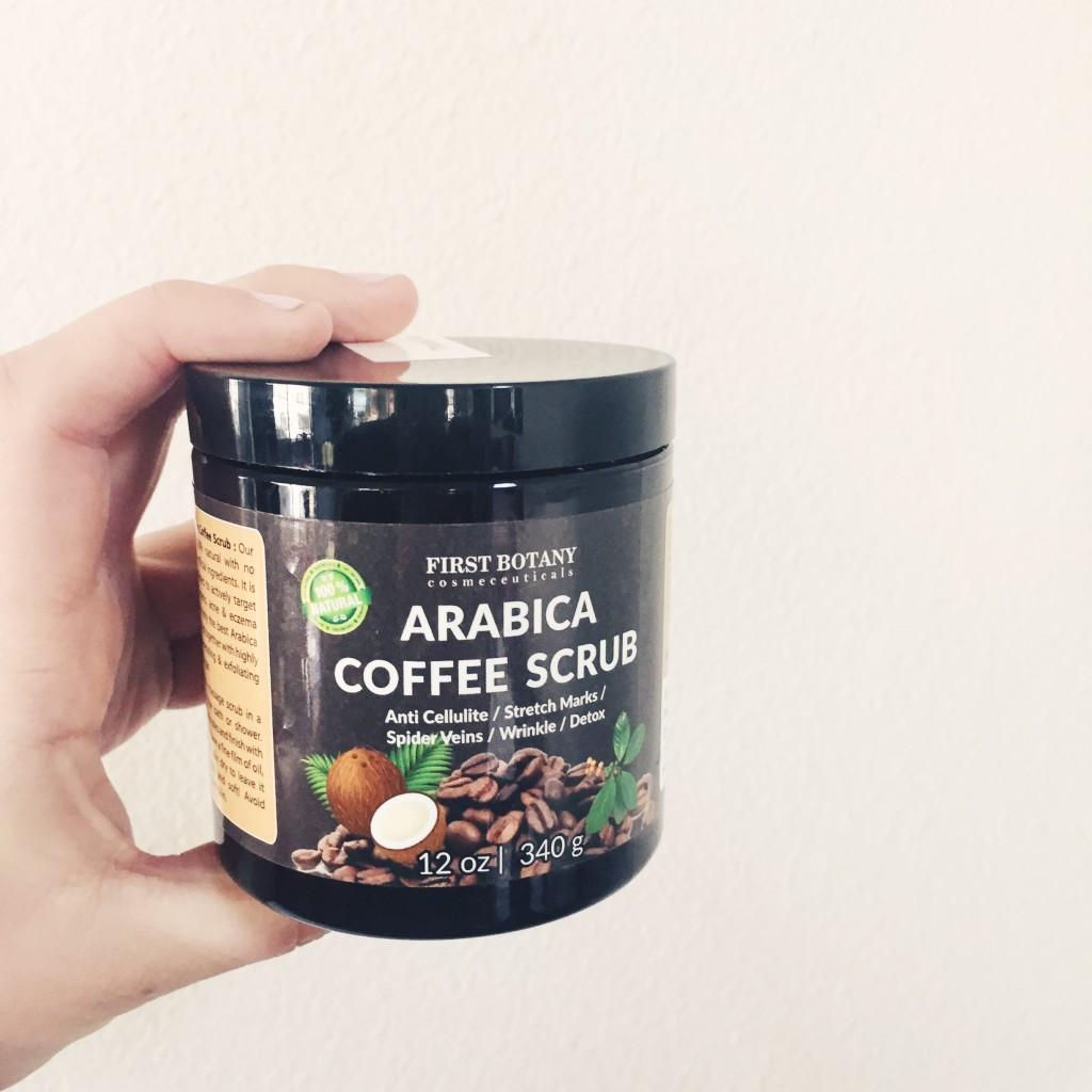 arabica coffee bean scrub // stephanieorefice.net