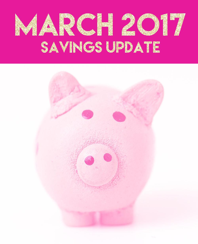 March Savings update // stephanieorefice.net