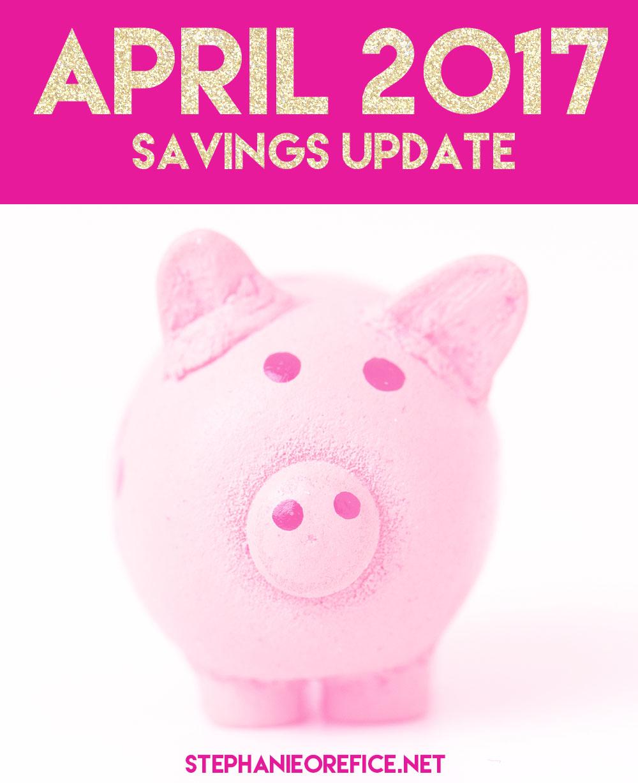 April savings update // stephanieorefice.net