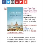 Booklist Review: ALONE TIME