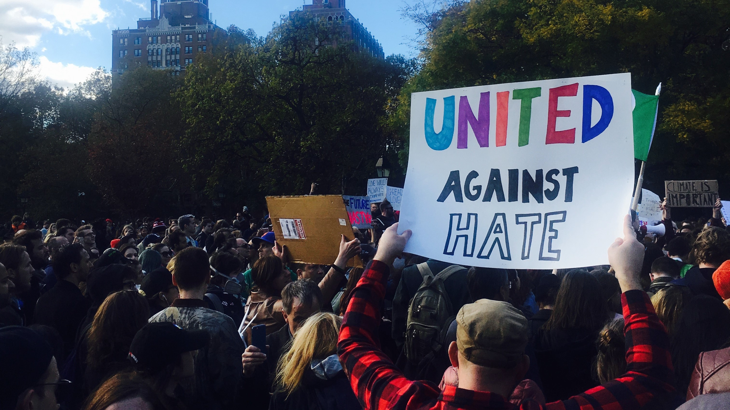 Human rights groups & advocates respond to hate speech in the aftermath of Trump's election
