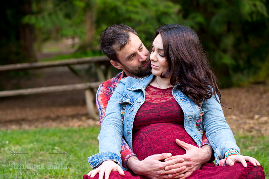 Nikkis Maternity 10 Washington Park Arboretum| Nikkole & Jon| Seattle Maternity Photographer