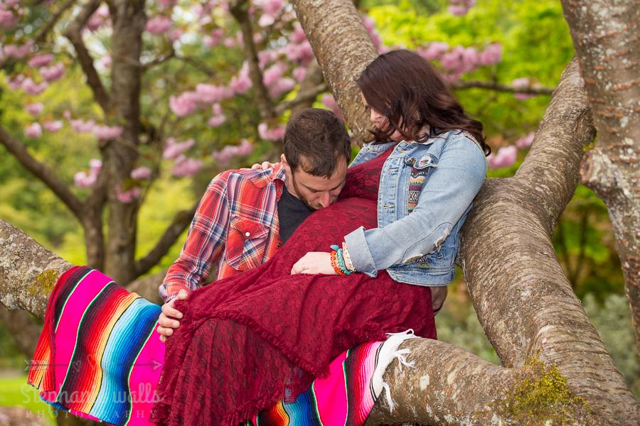 Nikkis Maternity 7 Washington Park Arboretum  Nikkole & Jon  Seattle Maternity Photographer
