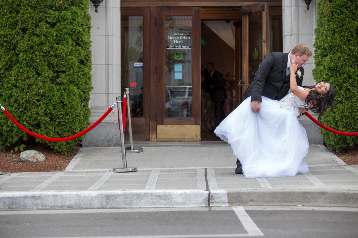 Aleshchenko Bridals 41 GLAM MONTE CRISTO BALLROOM WEDDING | EVERETT WEDDING PHOTOGRAPHER