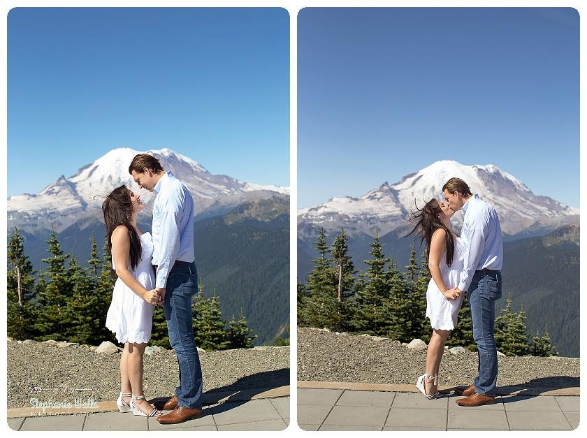 Crystal Mountain Resort Engagement | Enumclaw Engagement Photographer