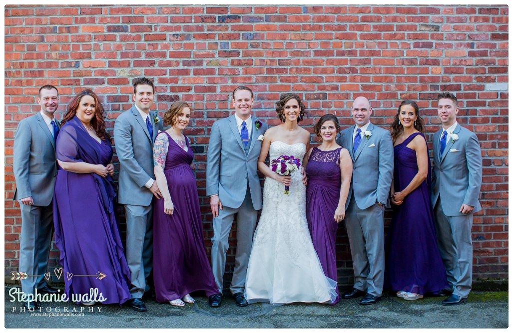 2016 02 16 0095 Purple Glam | Monte Cristo Ballroom Wedding Everett, Washington