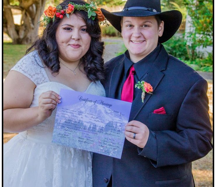Country Whidbey Island Weddings