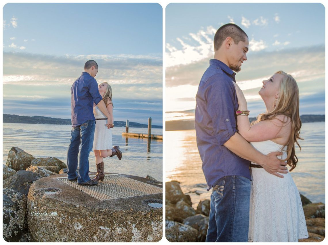 2017 01 20 0095 Sunset Engagement | Mukilteo Lighthouse Engagement Session