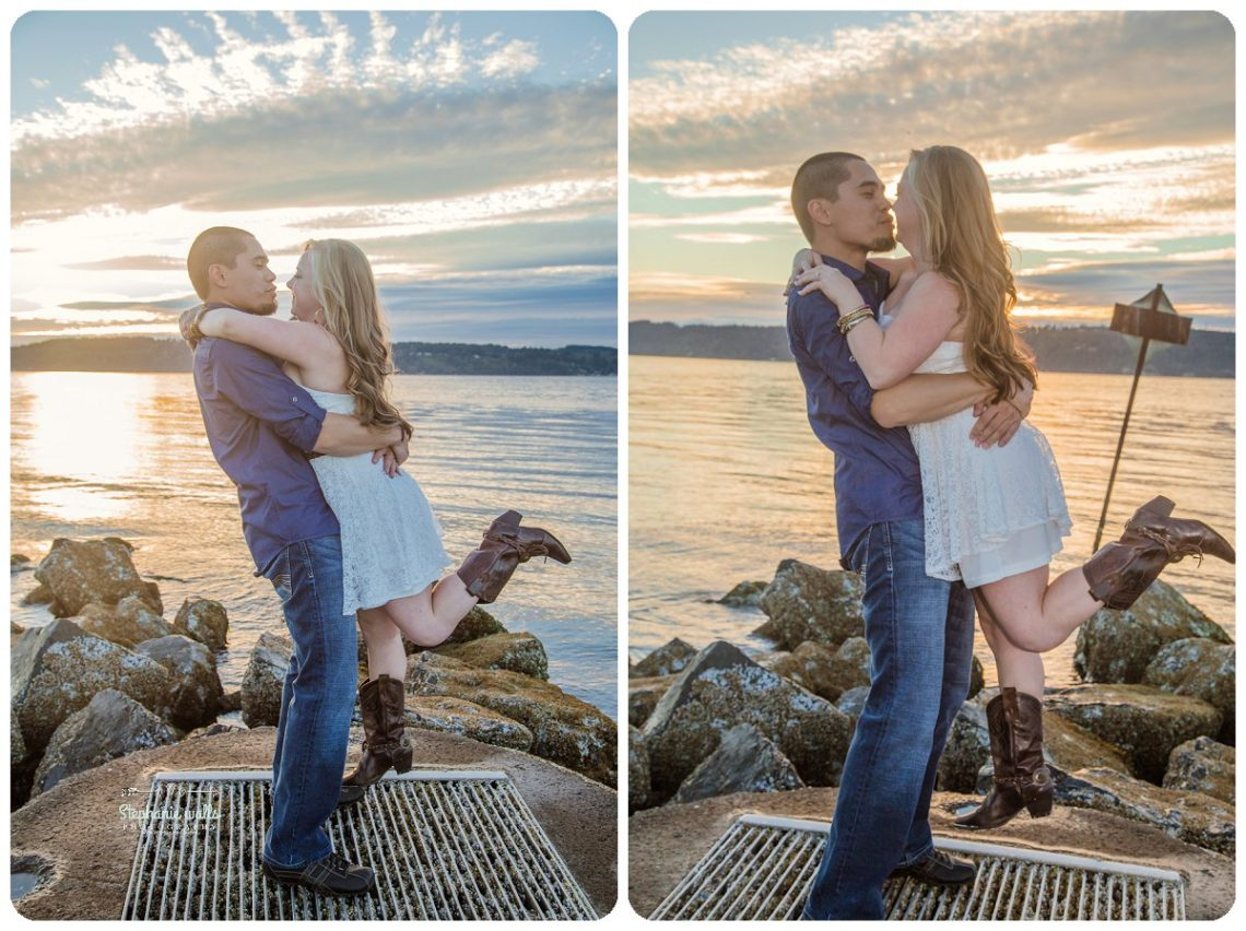 2017 01 20 0096 Sunset Engagement | Mukilteo Lighthouse Engagement Session